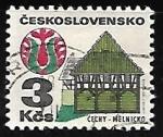 Sellos de Europa - Checoslovaquia -  Folk Architecture