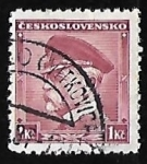 Sellos del Mundo : Europa : Checoslovaquia : Tomáš Garrigue Masaryk (1850-1937)