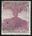 Sellos de America - Colombia -  Volcan Galeras - Pasto
