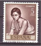 Sellos de Europa - España -  Día del Sello- Romero de Torres