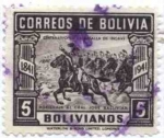 Sellos del Mundo : America : Bolivia : Centenario de la Batalla de ingavi