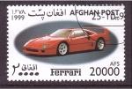 Sellos del Mundo : Asia : Afganistán : serie- Ferrari