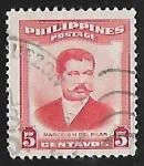 Sellos del Mundo : Asia : Filipinas : Marcelo H. del Pilar (1850-1896)