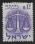 Sellos del Mundo : Asia : Israel : Zodiac: Libra