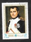 Sellos de Asia - Emiratos Árabes Unidos -  Manama - El Emperador Napoleón