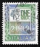 Sellos de Europa - Italia -  High Values