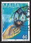 Sellos del Mundo : Europa : Malta : Año Internacional del Oceano
