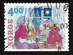 Sellos de Europa - Noruega -  Navidad