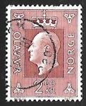 Sellos de Europa - Noruega -  King Olav V