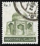 Sellos del Mundo : Asia : Pakistán : Mausoleum of Ibrahim Khan Makli Thatta