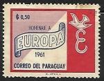 Sellos del Mundo : America : Paraguay : Homenaje a Europa
