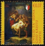 Sellos del Mundo : Europa : Malta : COL-TWELID TA' SIDNA GESÙ KRISTU MMVII