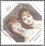 Sellos de Europa - Alemania -  250 Anivº de Johann Gottfried Schadow,artista gráfico y escultor.