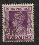 Sellos de Asia - India -  King George V - Oficial