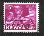Sellos del Mundo : Africa : Kenya : Imagenes Nativas