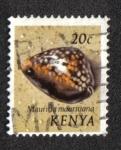 Sellos del Mundo : Africa : Kenya : Moluscos del Mar