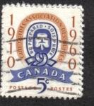 Sellos de America - Canadá -  Jubileo de Oro del Movimiento de Guías Canadienses