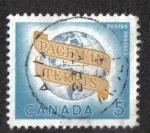 Sellos de America - Canadá -  Paz