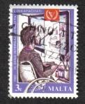 Sellos del Mundo : Europa : Malta : Año Internacional de los Discapacitados