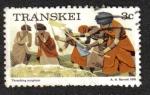 Sellos del Mundo : Africa : Sudáfrica : Trilla de sorgo (Transkei)