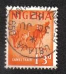 Sellos del Mundo : Africa : Nigeria : Motivos del país