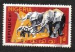 Sellos del Mundo : Africa : Nigeria : Fauna