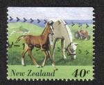 Sellos del Mundo : Oceania : Nueva_Zelanda : Animales de corral