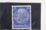 Sellos de Europa - Alemania -  mariscal Paul von Hindenburg