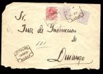 Sellos del Mundo : Europa : España : Carta Antigüa  -  Alfonso XIII -- Durango -Bilbao-