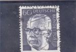 Sellos de Europa - Alemania -  presidente Heineman