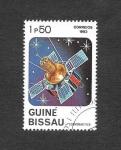 Sellos del Mundo : Africa : Guinea_Bissau : 466 - Cosmonautica