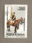 Sellos de Europa - Rumania -  Jinete de Brasov