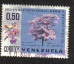 Sellos del Mundo : America : Venezuela : Apamate (Tabebuia pentaphylla)