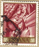 Sellos de Europa - España -  JOSE MARIA SERT - La Justicia