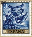 Sellos del Mundo : Europa : España : JOSE MARIA SERT - Lucha de Jacob y el Angel
