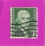 Sellos del Mundo : America : Estados_Unidos : Thomas Jefferson
