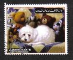 Sellos de Asia - Emiratos Árabes Unidos -  Perros, Ajman