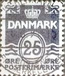 Sellos de Europa - Dinamarca -  Scott#833 intercambio, 0,25 usd, 25 cents. 1990