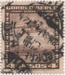 Sellos de America - Chile -  Y & T Nº 41 Aéreo