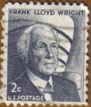 Sellos del Mundo : America : Estados_Unidos :  Frank LLoyd Wright