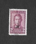 Sellos de America - Argentina -  666 - Esteban Echevarría