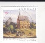 Sellos de Europa - Alemania -  1250 AÑOS KLOSTER LORSCH