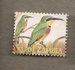 Sellos del Mundo : Africa : Zambia : Pájaros