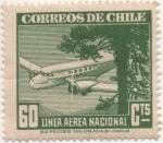 Sellos de America - Chile -  Y & T Nº 58 Aéreo