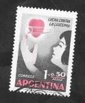 Sellos del Mundo : America : Argentina :  594 - Lucha contra la leucemia