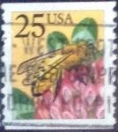 Sellos de America - Estados Unidos -  Scott#2281 intercambio, 0,20 usd, 25 cents. 1988