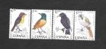Sellos del Mundo : Europa : España : Edf 2820-2823 - Pájaros