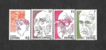 Sellos del Mundo : Europa : España : Edf 2853-2856 - Personajes