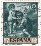 Sellos de Europa - España -  NIÑOS DE LA CONCHA- MURILLO (33)