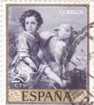Sellos del Mundo : Europa : España : EL BUEN PASTOR- MURILLO (33)